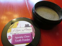 Squeaky Clean Tooth Remineralizing Whitening Powder