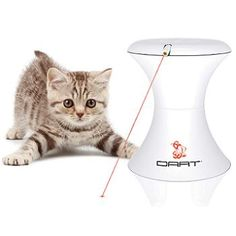 I know it shows it's for cats, but I want one for my new puppy. A friend bought one for her dog & he loves it...FroliCat Dart Laser Pet Toy