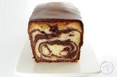 Cake marmorizzato al cacao ( F. Perret) - Il dolce Alessandro- un cake unico con una texture incredibilmente morbida