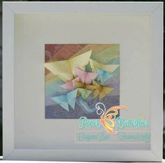 Rainbows Shadowbox by PaperButterfliesM on Etsy, £25.00