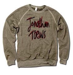 Jonathan Toews Officially Licensed NHLPA Chicago Men's Crew Sweatshirt S-2XL Toews Name R