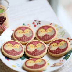 Cute cookies from Kotori cafe, Tokyo 〳 ° ▾ ° 〵