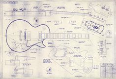 Les Paul Blueprints