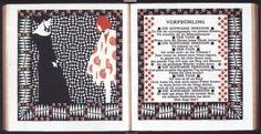 Koloman Moser Austrian 1878-1918, Early Spring, 1901, illustration for Rilke's Poem