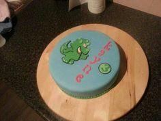 Dino taart. Dinosaur cake