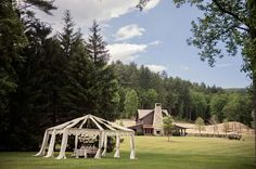Luxury Mountain Wedding Inspiration at Lonesome Valley, Cashiers, NC. | Carla Ten Eyck Photography | Bliss Events