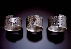 pmc rings | Jennifer Kahn Jewelry: Evolution of a Design