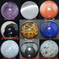Wholesale Lot Mix Natural Gemstone Sphere Crystal BALL | Collectibles, Rocks, Fossils & Minerals, Other Rocks, Fossils, Minerals | eBay!