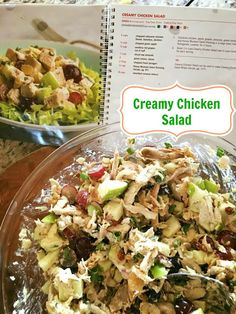 Creamy Chicken Salad from the 21 Day Fix cookbook, Fixate. Click for recipe!
