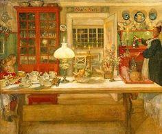 Carl Larsson, 1901
