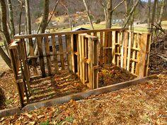 #pallets - in the garden