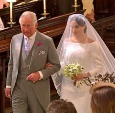 Prince Charles and Meghan at St George's Chapel