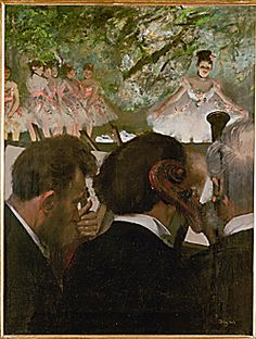 The Orchestra, Edgar Degas