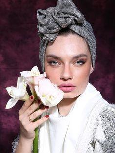 Silver Fashion Turban