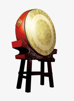 Chinese Drum, Feng Shui Symbols, Feng Shui Cures, Oriental, Chinese Architecture, Music Love, Chinese Style, Musical Instruments, Sculpture Art