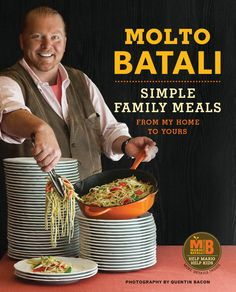 To celebrate the launch of Chef Mario Batali's new cookbook, Molto Batali: Simple Family Meals from My Home to Yours, we're giving away signed copies to foodspotters! To play, just follow the chef's latest Foodspotting guide, head to Eataly (one of our favorite places in New York City) and spot one of the items in the guide. Molto simple!  For more deets, check it out on the Foodspotting blog. Good luck and eat up!