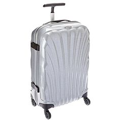 Samsonite 20-Inch Black Label Cosmolite Spinner (60530-1776) – Silver with Wenger Swissgear Granada Rolling Case Blk Nylon Fits Up To 17IN Notebooks