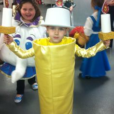 Lumiere costume hand made :)