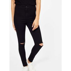 Miss Selfridge PETITE Lizzie Isko Jeans ($70) ❤ liked on Polyvore ...