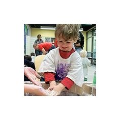 Messy Toddlers Age 1-3 Years at Portland Children's Museum Portland, OR #Kids #Events