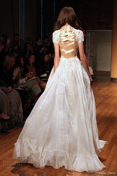 inbal dror 2017 bridal short sleeves high neck heavily emebellished bodice romantic princess a line wedding dress strap back sweep train (003) bv