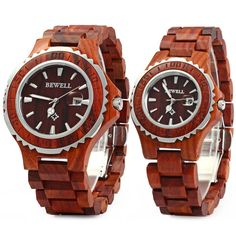 Are you excited?  Bewell Couple Lov... :-) http://www.sustainthefuture.us/products/bewell-couple-lovers-wooden-watch-new-year-gift-bangle-quartz-watch-with-calendar-display-role-men-relogio-masculino-watches?utm_campaign=social_autopilot&utm_source=pin&utm_medium=pin