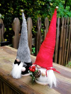 tomte wedding gnomes. too cute.