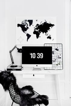 From Our Apartment: Home Office. | Victoria Törnegren | Bloglovin'