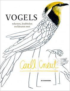 Vogels tekenen, krabbelen en kleuren, te bestellen bij speelfontein of via internet.