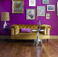 Pantone's 2014 Color of the Year: Radiant Orchid  #nousDECOR