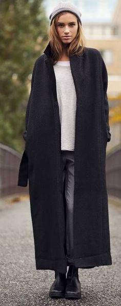 Long Oversized Coat