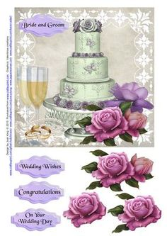 Wedding Day on Craftsuprint - Add To Basket!