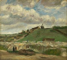Vincent van Gogh - The hill of Montmartre with stone quarry