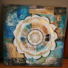Mixed Media Mandala's Artfest 200 by Anahata Katkin / PAPAYA Inc., via Flickr