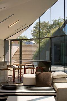 Proyecto arquitectónico abre la posibilidad de retomar añejo concepto en construcción y vivienda: casa ecológica bajo el terreno, no sobre el mismo.