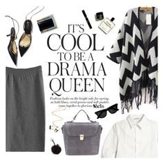 """""""It's cool to br a drama queen"""" by punnky ❤ liked on Polyvore featuring Dolce&Gabbana, Emma Watson, Nila Anthony, Maryam Keyhani and Moore & Giles"""