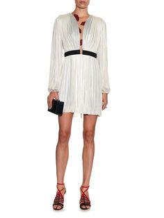 Verusha lip-appliqué silk-tulle dress | Maria Lucia Hohan | MATCHESFASHION.COM
