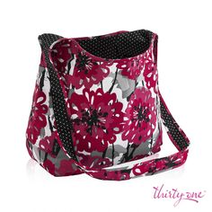 Go from Bold Bloom to Swiss Dot faster than you can say Inside Out Bag. www.mythirtyone.com/RandeSerbanjak