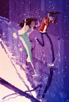 Purple Rain. by *PascalCampion on deviantART