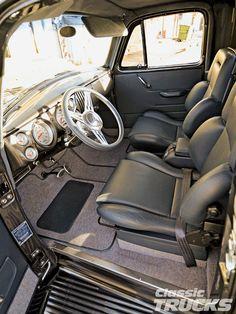 1950 chevrolet trucks interior | 1954 Chevy 3100 Truck Interior