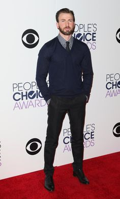 Pin for Later: How Chris Evans Made the People's Choice Awards Worth Watching