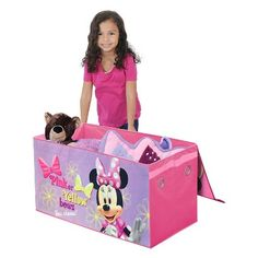 Disney® Minnie Mouse Collapsible Storage Trunk - Multi-Colored