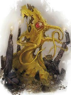 Yochlol, Handmaiden of Lolth Fantasy Monster, Monster Art, Dark Fantasy, Fantasy Art, Call Of Cthulhu Rpg, Science Fiction, Lovecraftian Horror, Eldritch Horror, Beast Creature