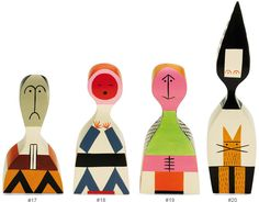 Wooden Dolls By Alexander Girard - hivemodern.com