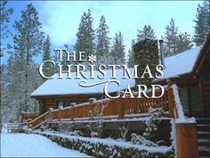 The Christmas Card - Log Cabin