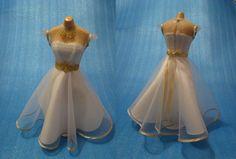 Vintage Dresses, Miniatures, Vintage Gowns, Vintage Dress, Minis
