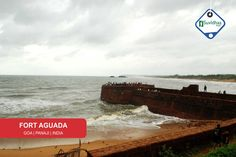 Fort Aguada is a well-preserved seventeenth-century Portuguese fort standing in Goa, India, on Sinquerim Beach, overlooking the Arabian Sea. The fort was constructed in 1612 to guard against the Dutch and the Marathas. It was a reference point for the vessels coming from Europe at that time.