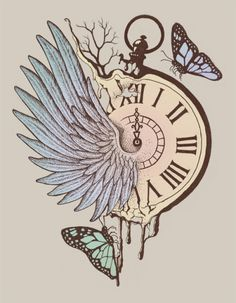 -Norman Duenas- 'Le Temps Passe Vite' (Time Flies)