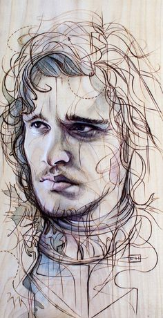 Jon Snow, caught in the act of knowing nothing. One of, like, thirty seven of my favorite characters from G.o.T.
