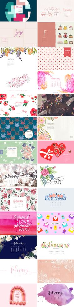 Happy February to all of my fabulous readers! I hope you have an amazing month and enjoy this collection of wallpapers! 1. Oh So Lovely   2. Flipsnack   3. ListLab 4. The House That Lars Built   5. Inkstruck Studio 6. Designer Blogs   7. Every-Tuesday   8. Dawn Nicole 9. Mospens Studio  …